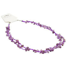 Chip Necklace Small - Amethyst