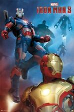 2013 MARVEL COMICS IRON MAN 3 MOVIE PATRIOT POSTER NEW 22x34 FAST FREE SHIPPING
