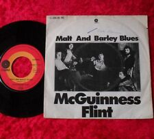 "Single 7"" McGuinnes Flint - Malt and Barley Blues"