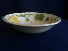 "Villeroy & Boch Geranium 6"" cereal bowl (minor scratches & minor staining )"