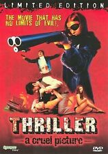Thriller - A Cruel Picture (DVD, 2004, Unrated, Uncensored)