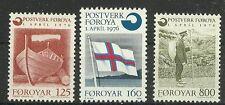 FARÖR/ Boote-Flaggen MiNr 21/23 **