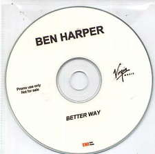 BEN HARPER - rare Cd single - France - Acetate