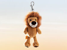 Rudolph Schaffer Kumba Lion Key Ring - SC164, Golden Brown , Metal & Plush