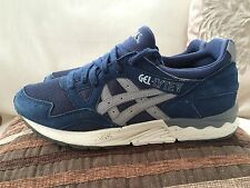 Asics Gel Lyte V (5) Blue Trainers Size 8 UK Mens