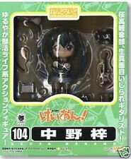 Used NENDOROID 104 K-ON Azusa Nakano ABS PVC Figure PRE-PAINTED