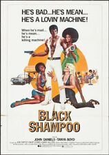 BLACK SHAMPOO one sheet movie poster 27x41 1976 BLAXPLOITATION RARE + 2 photos