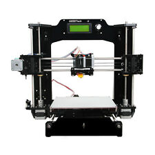 Geeetech 3D Printer Prusa i3 X Print 6 filament Full Acrylic Frame self-assembly