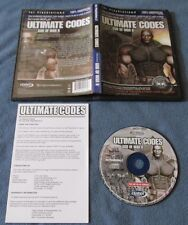 Action Replay Ultimate Codes: God of War II for PS2 COMPLETE