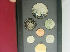 COINHUNTERS-1990 CANADA RCM PROOF SET W/ HENRY KELSEY 50 % SILVER DOLLAR