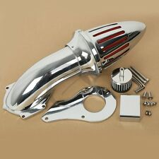 Chrome Air Cleaner Intake Filter For Honda Shadow 600 VLX600 VT600C 1999-2012 08