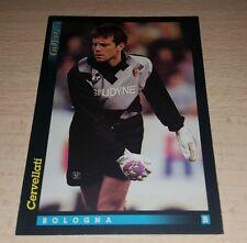 CARD GOLD 1993 BOLOGNA CERVELLATI CALCIO FOOTBALL SOCCER ALBUM
