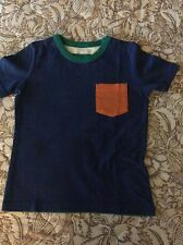 NWT 3/4 Mini Boden Color Block Tee Short Sleeved Blue Green Etc FREE SHIPPING