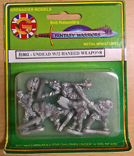 Grenadier Fantasy Warriors - 51002 Undead w/2 handed weapons (MIB)