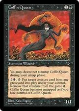 COFFIN QUEEN Tempest MTG Black Creature — Zombie Wizard RARE
