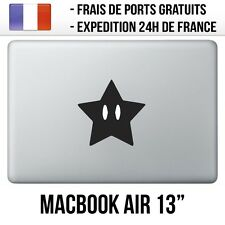 "Sticker Macbook Air 13"" - Etoile Mario"