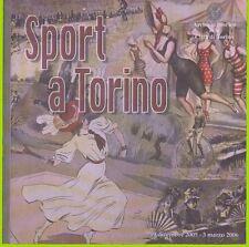 SPORT a TORINO documenti dell'ARCHIVIO STORICO 1800-1900 piemonte ILLUSTRATO