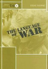 The Language of War (Intertext)-ExLibrary