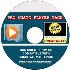 PRO Media Player raccolta Convertitore video e Flash Player CD-convertire AUDIO