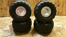 NEW Traxxas 1/10 BIGFOOT Monster Truck mounted wheels and tires Stampede