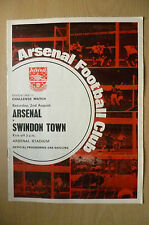 Challenge Match 1969/70- ARSENAL v SWINDON TOWN, 2nd August
