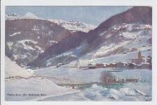 AK Klosters, Rhätische Bahn, 1910