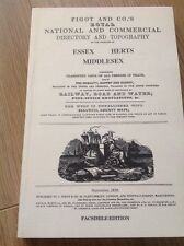 Pigot and Co's National Commercial Directory - 1839 Essex, Herts, Middlesex