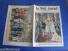Le petit journal 1897 347 Reine Victoria armée coloniale anglaise Insectes