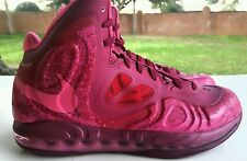 NIKE AIR MAX HYPERPOSITE RASPBERRY RED/PINK FOIL SIZE 10