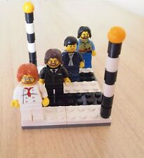 The Beatles Figures Abbey Road - Album Cover Custom Made from LEGO parts