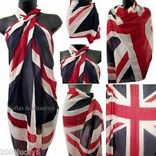 Union Jack UK Drapeau Britannique Sarong Plage Cover-up Écharpe wrap caftan Anglais Britannique