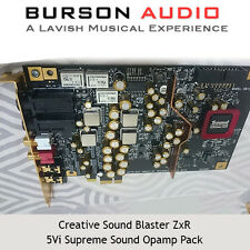 Creative Sound Blaster ZxR Soundcard upgrade pack with V5i Op-Amps