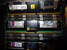 1X 8GB DIMMs Kingston KTH-XW667/16G 2Rx4  PC2-5300F FB-DIMM DDR2 667