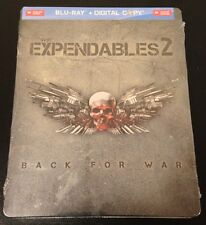 THE EXPENDABLES 2 Future Shop Exclusive Blu-Ray SteelBook Two Canada New & Rare!