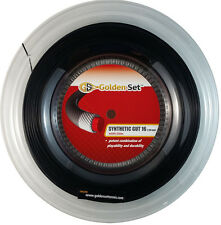 GSI Synthetic Gut 16 black tennis string - 660' Reel
