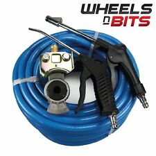 Truck Lorry 20 metre Air line Dust Hose Kits 300psi Extra Heavy Duty & fixings
