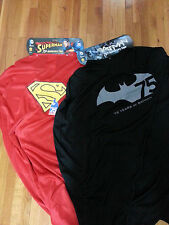 DC COMICS EXCLUSIVE NYCC13/SDCC1 SUPERMAN & BATMAN 75TH ANNIVERSARY CAPE