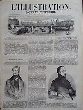 L' ILLUSTRATION 1844 N 48  PORTRAITS DE MM. ADOLPHE THIERS et FRANCOIS GUIZOT