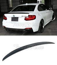 For 14-Up BMW F22 2-Series Carbon Rear Trunk Spoiler Wing Lip Performance Style