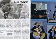 Coupure de presse Clipping 1977 Patrick Dewaere  (4 pages)