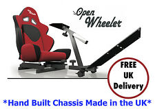 OpenWheeler Racing Seat Driving Simulator Game Chair Sim Racing Rig Play Seat