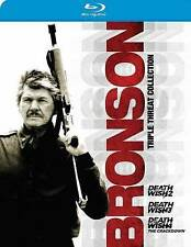 Death Wish: Charles Bronson Triple Threat Collection (Blu-ray Disc, 3-Disc Set)