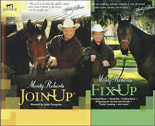 Montry Roberts Join-Up & Fix-Up Combo with Monty Roberts DVD New