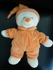 P4/ DOUDOU PELUCHE GIPSY OURS BABY BEAR CROISSANT DE LUNE GIPSY 29 CMS - TTBE !
