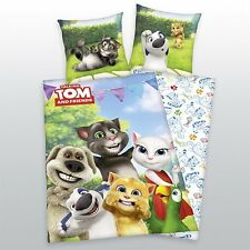 Herding Bed cover Talking Tom and Friends 135 x 200cm 100% Cotton