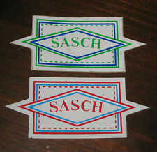 """Adesivi Anni ' 80 """" SASCH """" Pz.2"""