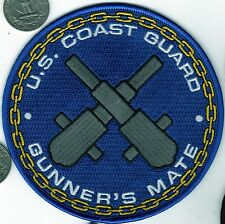 USCG Patch US Coast Guard Gunner's Mate Ship Police Crossed Cannon