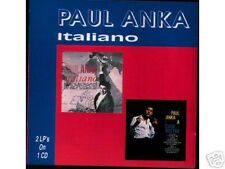 PAUL ANKA - Italiano Great CD! 28 Songs in Italian