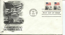 1981 FLAG OVER THE SUPREME COURT COIL STAMP ART CRAFT CACHET UNADDRESSED FDC
