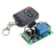 Interrupteur à Distance Télécommande Sans Fil 1 Voie 315MHz 50M Récepteur DC12V